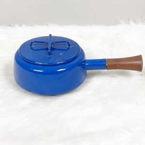 Dansk Kobenstyle Midnight Blue Cocoa Pot with Lid